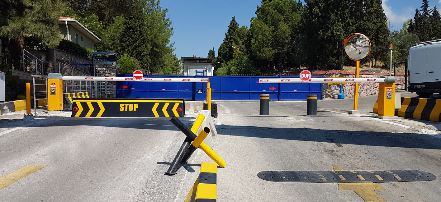 Ege Teta Elektronik   Hidrolik Road Blocker